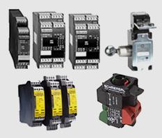 SCHMERSAL: Botões de comando, sinalizadores leds, pedaleiras, scanner laser, sistemas suspensos, produtos à prova de explosão, barreiras, relés, linha lógica.