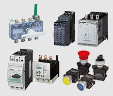 SIEMENS: Inversores de frequência, conversores, disjuntores, interruptores, seccionadoras, softstarters, botões e sinaleiros, IHM, CLP SIMATIC.