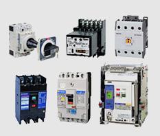 TERASAKI: Disjuntores, minidisjuntores, contatores, minicontatores, sistema de correção de fator de potência, disjuntor-motor, relés térmicos.