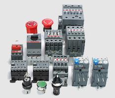 ABB: Disjuntores, interruptores, contatores, chaves seccionadoras, capacitores, softstarters, botões e sinaleiros.